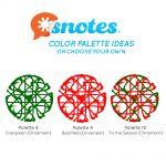 Snotes Color Palette Ideas Ornaments